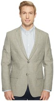 Perry Ellis Slim Fit End on End Linen Jacket Men's Coat