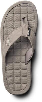 Volcom Men's Drafted Recliner Beach Sandal