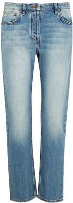 The Row Ashland Blue Straight-leg Jeans