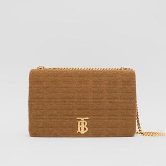 Burberry Extra Large Quilted Towelling Lola Bag