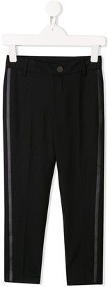 Givenchy Kids tailored side stripe trousers