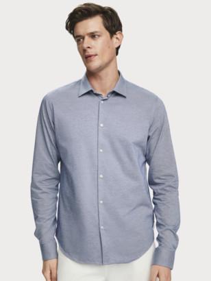 Scotch & Soda Knitted Dress Shirt Regular fit   Men