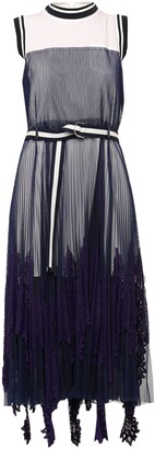 Sacai Long dresses