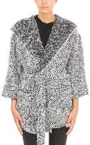 IRO Laval Hooded Sweater Coat