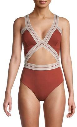 Dolce Vita Cutout 1-Piece Swimsuit