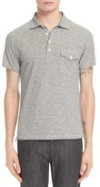 Todd Snyder Men's Cotton Microstripe Polo