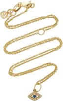 Sydney Evan 14K Gold, Diamond and Sapphire Necklace