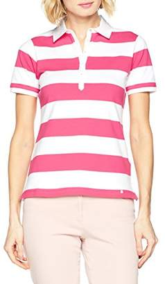 Brax Women's Style.Cleo 38-3317 Polo Shirt Pink 85, 6