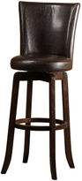 JCPenney Hillsdale House Copenhagen Upholstered Swivel Barstool with Back