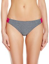 Oakley Women's Heather Medium Coverage Spider Bikini Bottom
