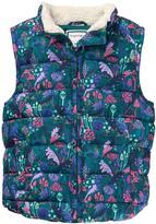Gymboree Mushroom Puffer Vest