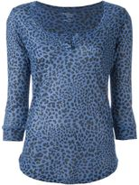 Majestic Filatures leopard print top - women - Viscose - 4
