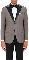 Caruso Men's End-On-End Wool Two-Button Jacket