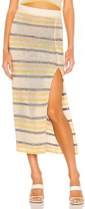 Line & Dot Summer Nights Sweater Skirt