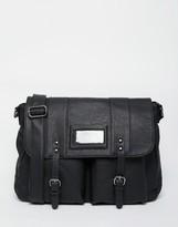 French Connection Messenger Bag - Black