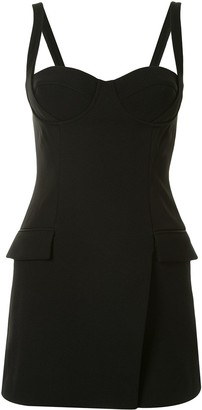 Dion Lee Fitted Strap Bustier Mini Dress