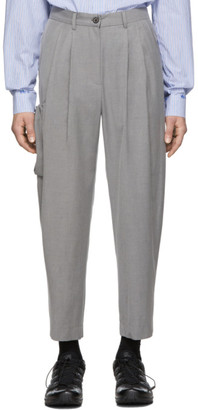 ADER error Gray Rily Trousers