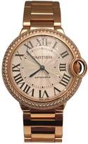 Cartier Ballon bleu pink gold watch