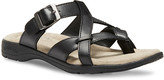 Eastland Women's Sandals BLACK - Black Pearl Leather Sandal - Women