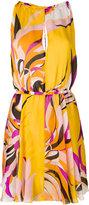 Emilio Pucci printed pleated dress