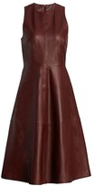 Remain Birger Christensen Portia Leather Dress