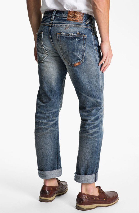 PRPS 'Barracuda' Straight Leg Jeans (Light Wash)