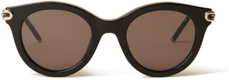 Mulberry Penny Sunglasses Black Acetate