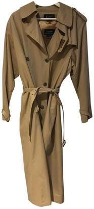 Lauren Ralph Lauren Beige Cotton Coat for Women