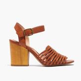 Madewell The Willa Wooden-Heel Sandal