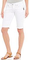Silver Jeans Co. Suki Super Stretch Denim Cuffed Bermuda Shorts