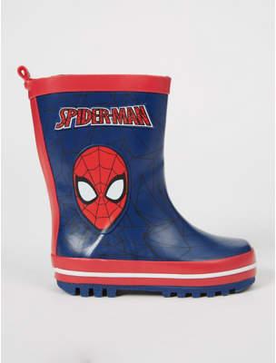 George Marvel Spider-Man Wellington Boots
