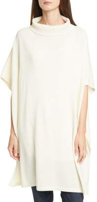 Eileen Fisher Cashmere Turtleneck Poncho