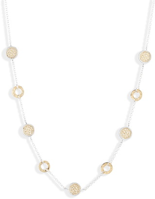 Anna Beck Hammered Disc Collar Necklace