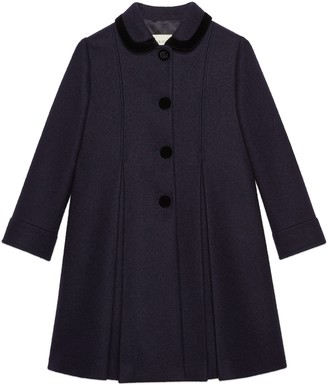 Gucci Petit wool mohair coat