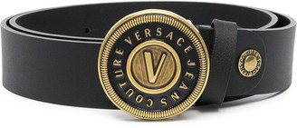 Versace Jeans Couture Logo-Buckle Belt