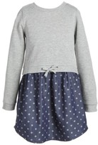 Tucker + Tate Toddler Girl's Terry Long Sleeve Dress