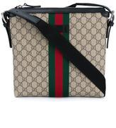 Gucci Web Gg Supreme Messenger Bag