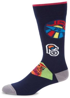 Paul Smith Odd Badge Socks