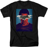 Novelty T-Shirts Superman Short-Sleeve Graphic Tee