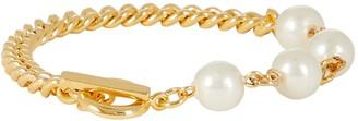 Ben-Amun Pearl Chain-Link Bracelet