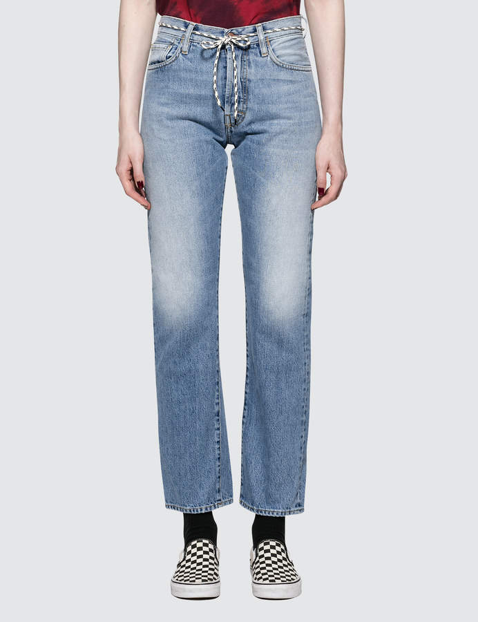 Aries Lilly Selvedge 90s Pale Jeans