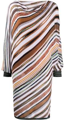 Missoni Diagonal Stripe Knit Dress