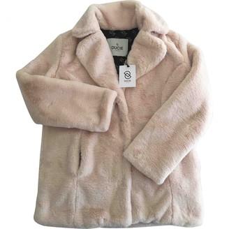 Ducie Pink Faux fur Jacket for Women