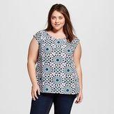 Merona Women's Plus Size Wear to Work Shell Top