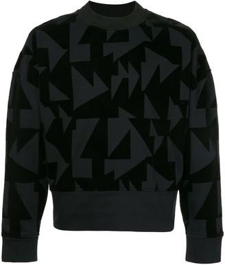 Cerruti Geometric Print Sweater