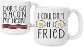 Cathy's Concepts 'Bacon & Eggs' Ceramic Coffee Mugs