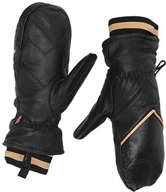 Roxy Torah Bright Summit Snow Mitt (True Black) Ski Gloves