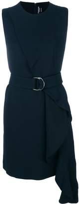 Calvin Klein ruffle detail dress