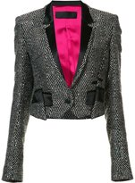 Haider Ackermann embellished cropped jacket