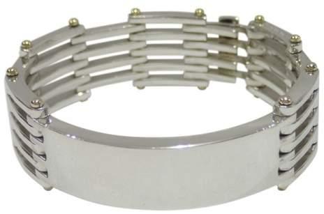 Tiffany & Co. 925 Sterling Silver 18K Yellow Gold Bracelet